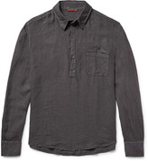 Barena Half-Placket Linen Shirt