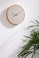 Urban Outfitters Abbi Concrete Wall Clock