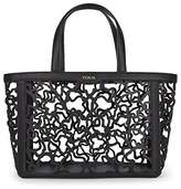 Tous Capazo Mediano Kaos Shock, Women's Shoulder Bag, Negro (), 15x25x32 cm (W x H L)