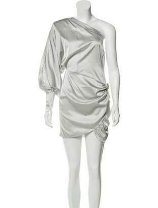retrofete Silk Mini Dress Grey