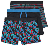 George 3 Pack Assorted A-Front Fly Trunks