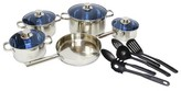 Gourmet Chef 14 Piece Stainless Steel Cookware Set