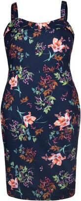 Rachel Roy Delilah Sleeveless Scuba Crepe Dress