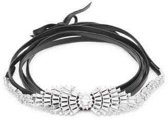 Fallon Monarch Starburst Crystal-embellished Choker
