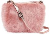 Asstd National Brand Faux Fur Mini Crossbody Bag