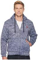 U.S. Polo Assn. Heathered Fleece Zip Hoodie