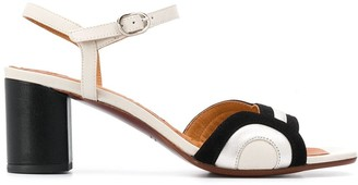 Chie Mihara Los Map 65mm open toe sandals