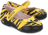 Moschino Tiger Mary Janes