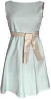 Jil Sander Blue Cotton - elasthane Dress for Women