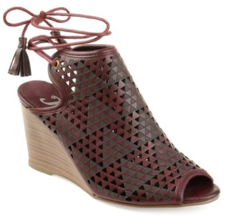 Journee Collection Tandra Wedge Sandals