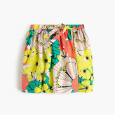 J.Crew Girls' pull-on skirt in punchy hibiscus