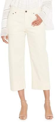 Buffalo David Bitton Farrah Wide-Leg Cropped Jeans