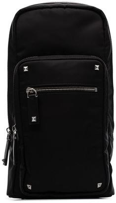 Valentino Garavani Rockstud embellished slim crossbody bag