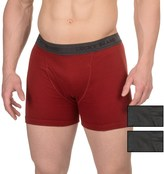 Lucky Brand Cotton Boxer Briefs - 3-Pack (For Men)