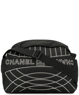 Chanel Pre Owned sport line Boston handbag