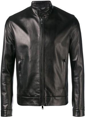 Valentino funnel neck jacket