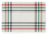 Kate Spade Frost Street Plaid Woven Placemat