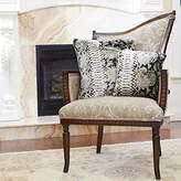 "Best Home Fashion Faux Fur Pillow - Snake - 14""W x 14""L - (Set of 2 Pillow Covers)"