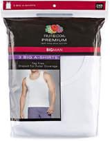 Fruit of the Loom Premium 3-pc. Sleeveless Tank-Big