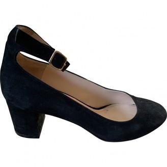 Tila March Black Leather Ballet flats