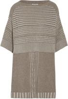 Autumn Cashmere Textured-knit sweater