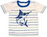 Sword Fish Kapital K SwordFish Stripe Graphic Tee (Baby) - Whole Wheat-12 Months