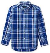 Ralph Lauren Boys 2-7 Cotton Plaid Shirt