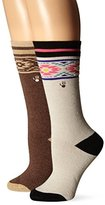 BearPaw Women's Full Terry Boot Socks (Pack of Two Pairs)