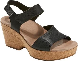 Earth Kella Platform Sandal