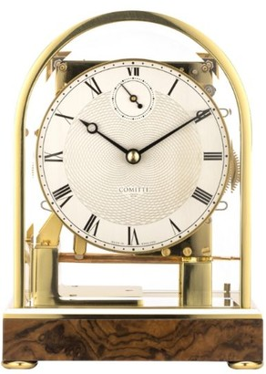 Comitti Cheltenham Walnut Table Clock