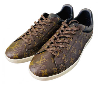 Louis Vuitton Luxembourg Brown Cloth Trainers