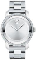 Movado Bold Diamond & Stainless Steel Bracelet Watch