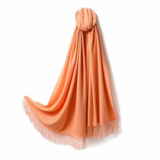 Eagool Cashmere Scarf Women Autumn and Winter Thickening Warmth Tassel Shawl Wool Scarf (WS11#)