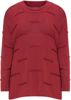 Isolde Roth Plus Size Textured detail sweater