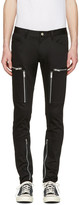 Undercover Black Zipper Pocket Trousers