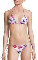 Emilio Pucci Two-Piece Ranuncoli Print Bikini