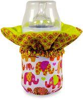 WarmZe Portable Bottle Warmer Starter Kit in Pink Elephant