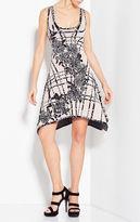 Herve Leger Hailey Flower Detail Beading Dress
