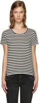 Amo Black & White Twist T-Shirt