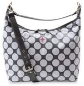JP Lizzy Glazed Hobo Diaper Bag in Polka Dot