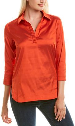 Leggiadro Silk-Blend Tunic