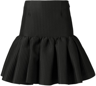 MSGM Short Ruffled Skirt