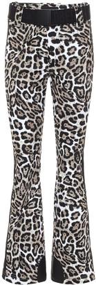 Goldbergh Roar leopard-print ski pants