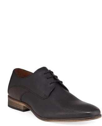 Kenneth Cole Reaction Men's Fin Two-Tone Leather Lace-Up Oxfords