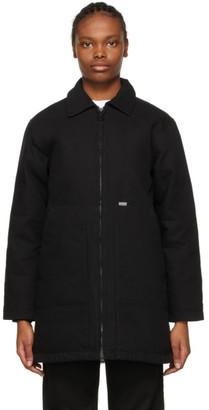 Carhartt Work In Progress Black Brooke Coat