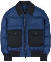 Ami Alexandre Mattiussi zipped down jacket - men - Cotton/Polyamide/Polyester/Wool - M