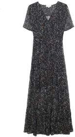 Mila Louise Grace & Midi Wrap Dress Navy Teresa - large