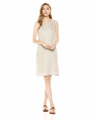 28 Palms 100% Linen Shift Dress Casual