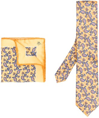 Canali All-Over Print Handkerchief