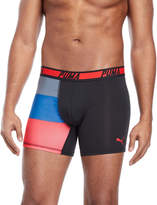 Puma Logo Waist Color Block Boxer Briefs